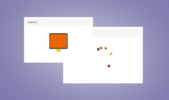 CSS3 Loading加载动画特效炫酷代码