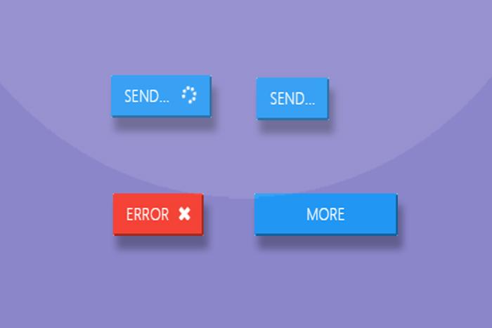 带动画图标的jquery按钮插件
