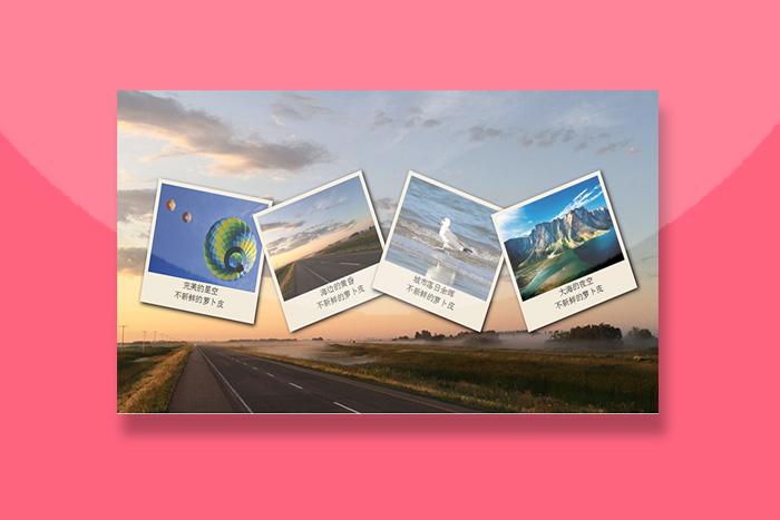 CSS3 transform悬挂的照片墙效果代码