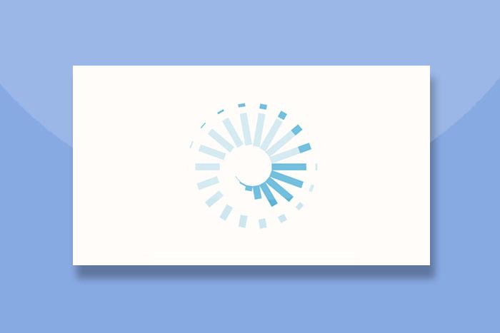 SVG螺旋式扩散的Loading加载动画代码