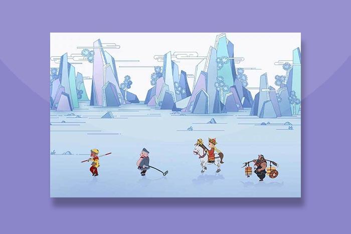 CSS3仿梦幻西游场景动画特效插件
