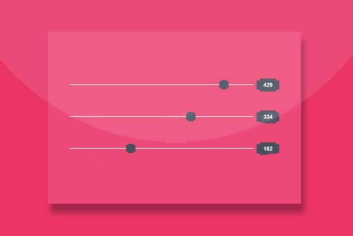 创意jQuery和CSS3滑块特效插件