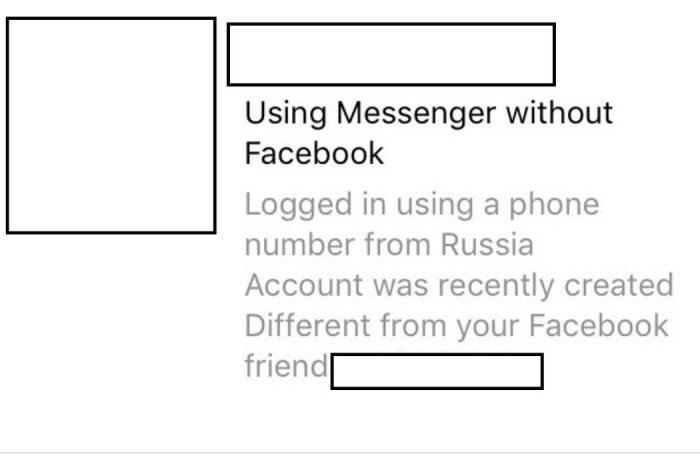 Facebook正在测试一项能告知用户所收直接信息是否来自俄罗斯的功能