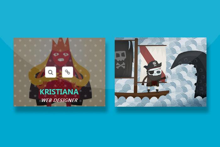 CSS3鼠标经过动画特效插件