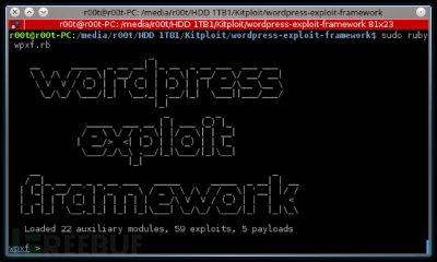 一款针对WordPress网站的渗透测试框架
